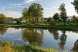 Pohled přes rybník Nový