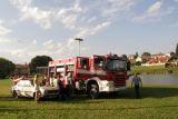 Ukázka profesionálních hasičů