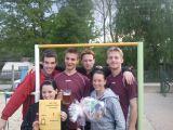 2. místo volejbal 2010