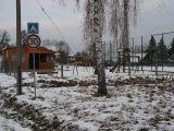sportovní areál v zimě
