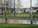 Opravené břehy rybníka Nový